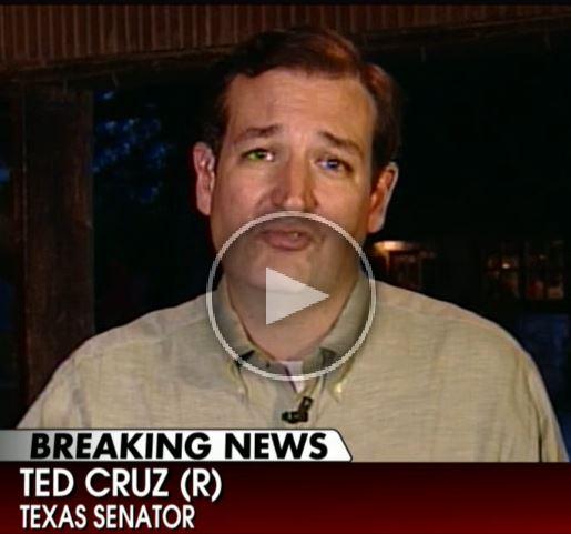 US Senator Ted Cruz comments on Sen. Bob Menendez