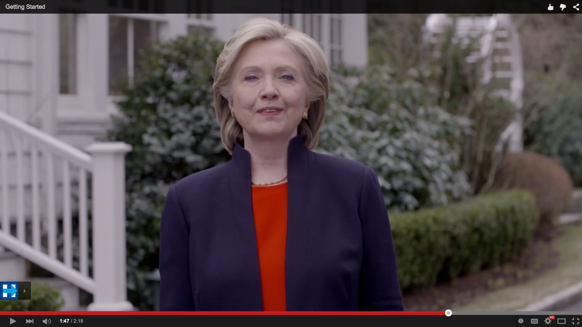 Credit: Hillary for America 2016, YouTube