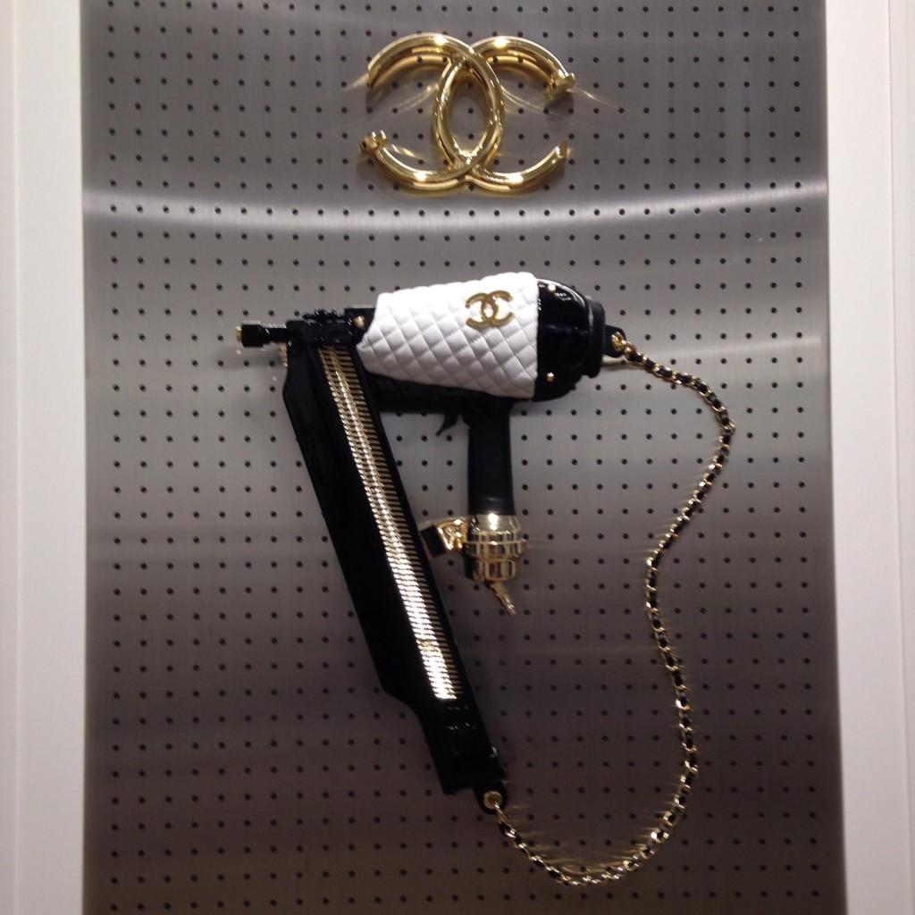 Chanel nail gun by Markowsky.