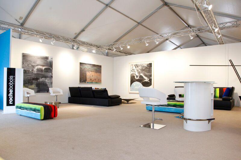 #ArtHamptons VIP Lounge by Roche Bubois